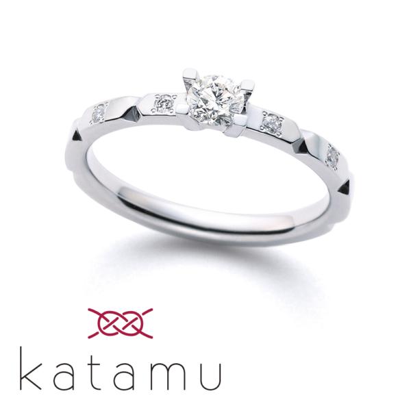 鍛造婚約指輪カタム京都1