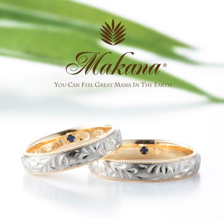 京都で人気のハワイアンジュエリーブランドマカナの結婚指輪1