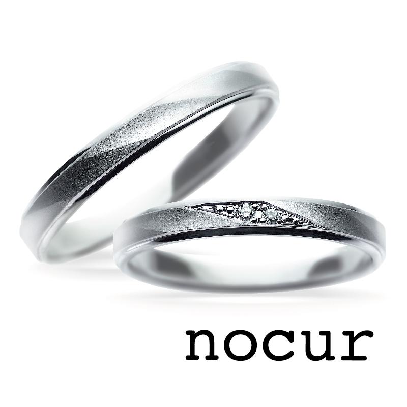 京都で10万円で揃う結婚指輪でノクルのCN-050