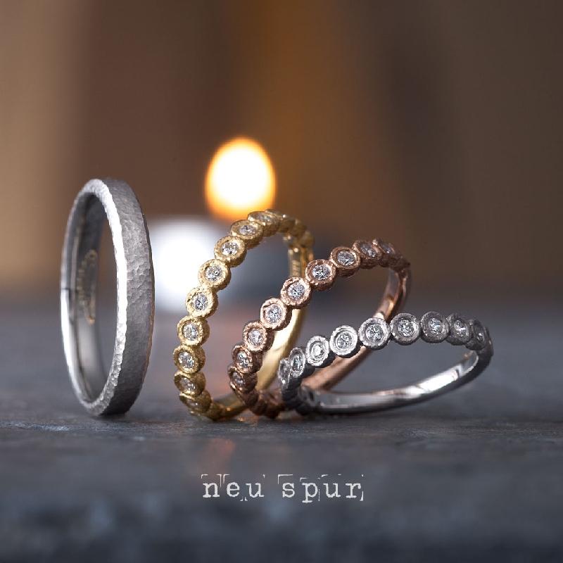 京都でおすすめのアンティークな結婚指輪でノイシュプールのリヒト