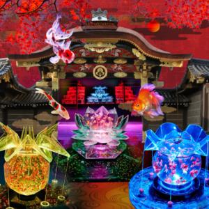 京都のサプライズアートアクアリウム