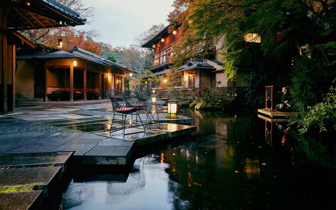 京都でおすすめのプロポーズスポットで星のや京都