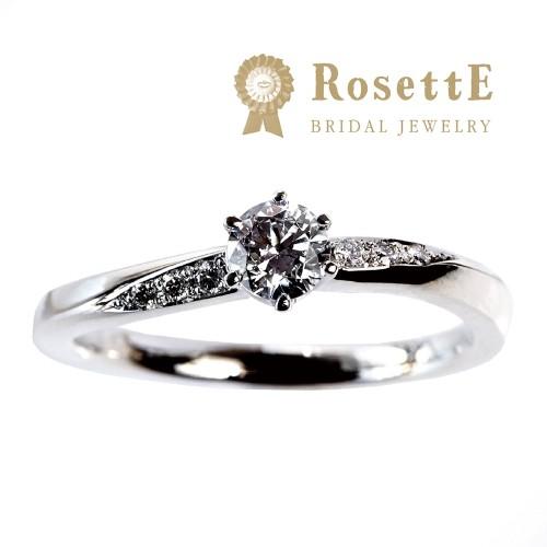 京都で人気の婚約指輪プロポーズリングでロゼットの月明り
