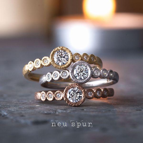 京都でおすすめのアンティークな婚約指輪でノイシュプールのリヒト