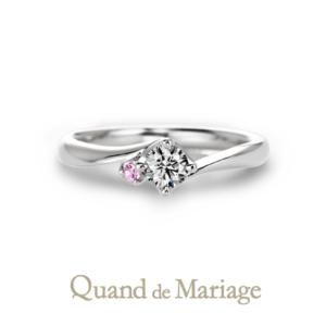 Qマリの結婚指輪 ドゥブリーズ 婚約指輪正規取扱店京都