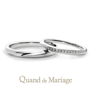 Qマリ オソレイユ 結婚指輪正規取扱店京都