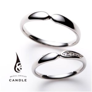 シンプルキャンドルのコラム結婚指輪京都1