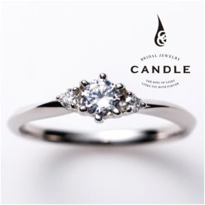 シンプル指輪スパイラルの婚約指輪京都1
