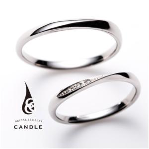 シンプル指輪デコラの結婚指輪京都1