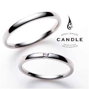 キャンドル結婚指輪ラウンド京都1
