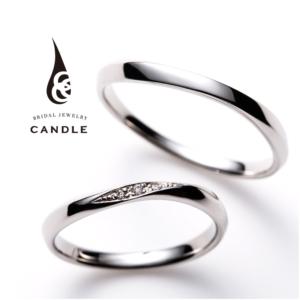シンプル指輪スパイラルの結婚指輪京都1