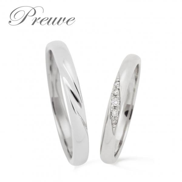 京都で10万円で揃う結婚指輪のプルーヴ3