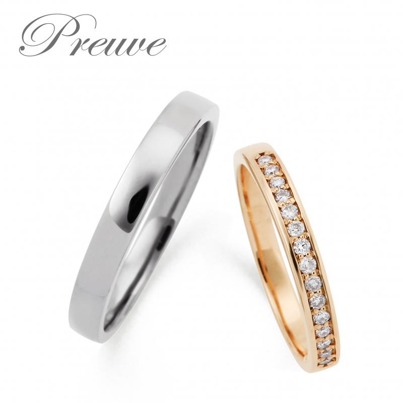 結婚指輪安い京都プルーヴ8