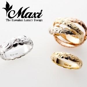 SINGL Ring Maxi【マキシ】 | ハワイアンジュエリーの結婚指輪|婚約指輪京都
