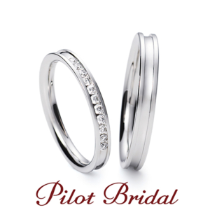 タンゾウリングパイロットブライダルディアの結婚指輪京都