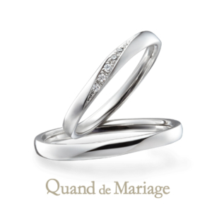 Qマリの結婚指輪 リフレ 正規取扱店京都