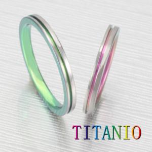 チタンの指輪ティタニオ京都14