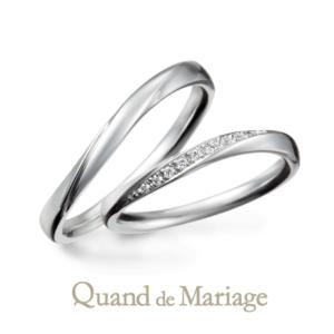 Qマリ トゥジュールアンサンブル 結婚指輪正規取扱店京都