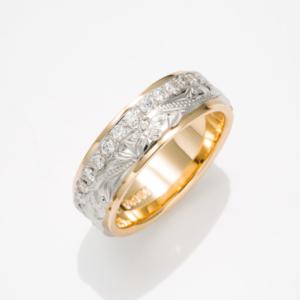 京都MAILE結婚指輪エタニティリング6