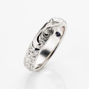京都MAILE結婚指輪エタニティリング4
