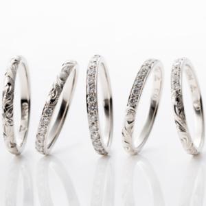 京都MAILE結婚指輪エタニティリング3