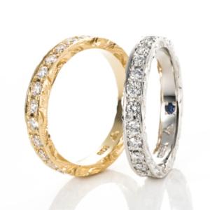 京都MAILE結婚指輪エタニティリング1