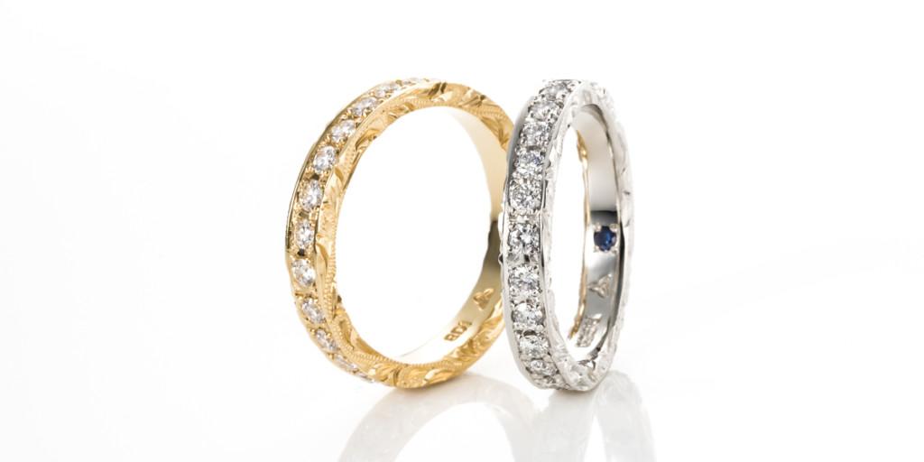 Side Engraved Eternity Ring / サイドエングレイヴドエタニティリング