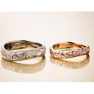 京都MAILE結婚指輪カーブリング2