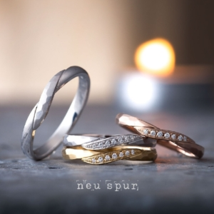 アンティーク調リーベノイシュプール結婚指輪京都