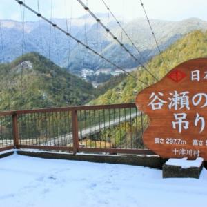 京都のサプライズ谷瀬の吊り橋