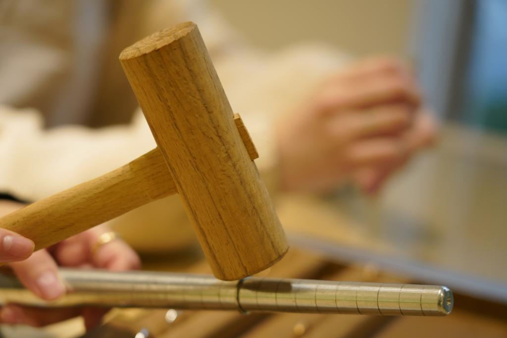 garden京都の手作り指輪