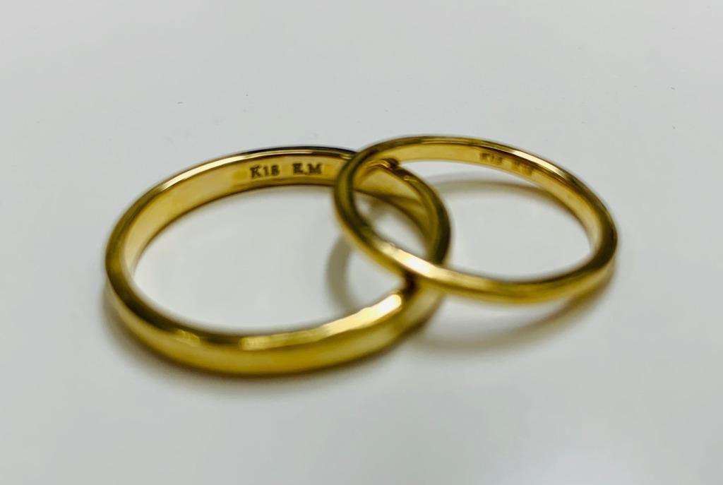 garden京都の手作り結婚指輪の制作過程3