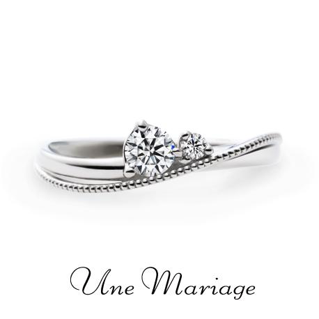 京都でおすすめアンティークな婚約指輪でアンマリアージュのラパンデモア