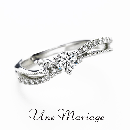 京都でおすすめのアンティークな婚約指輪でアンマリアージュのリュミノジテエテルネッル