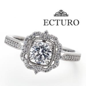 京都エクトゥーロ婚約指輪ECTRAD10゜