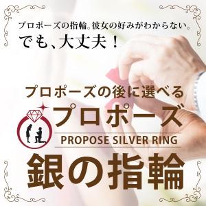 銀の指輪プロポーズリング