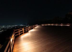 京都のサプライズ将軍塚青龍殿 大舞台