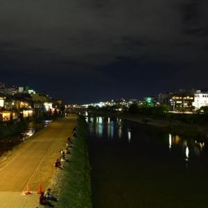 京都のサプライズ四条大橋近辺