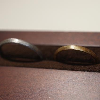 京都でできる手作り結婚指輪3