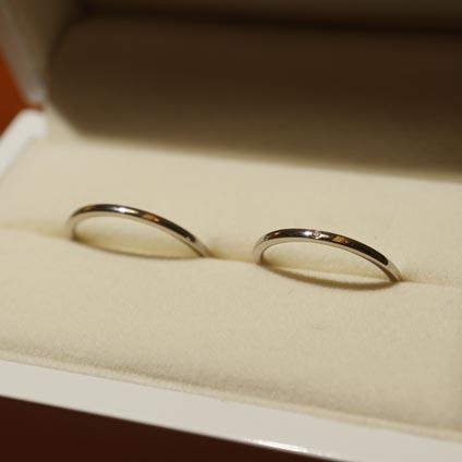 京都でできる手作り結婚指輪1