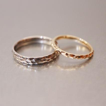 京都でできる手作り結婚指輪2