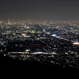 京都のサプライズ信貴生駒スカイライン(鐘の鳴る展望台)