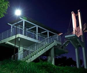 京都のサプライズ信貴生駒スカイライン 鐘の鳴る展望台