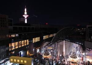 京都のサプライズ京都駅 空中広場