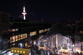 京都駅 空中広場