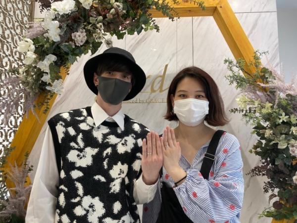 京都府・向日市|手作りペアリング(指輪)を作成いただきました