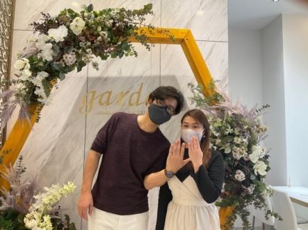 京都|パイロットブライダルの結婚指輪をご成約いただきました