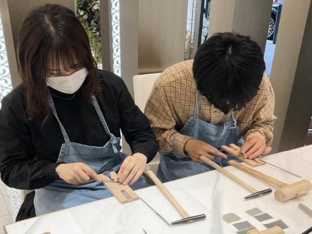大阪府高槻市|手作りペアリング(指輪)作成いただきました
