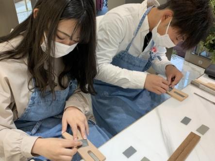 滋賀県彦根市・長浜市|手作りペアリング(指輪)作成いただきました