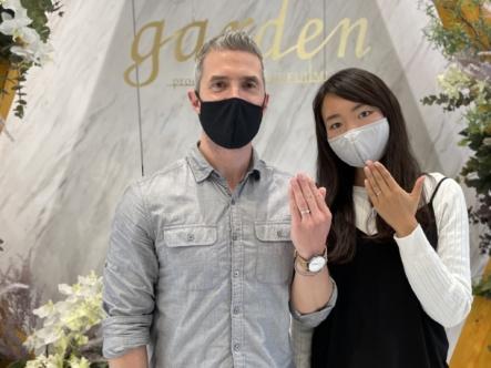 京都市中京区|フィッシャーの結婚指輪をご成約いただきました